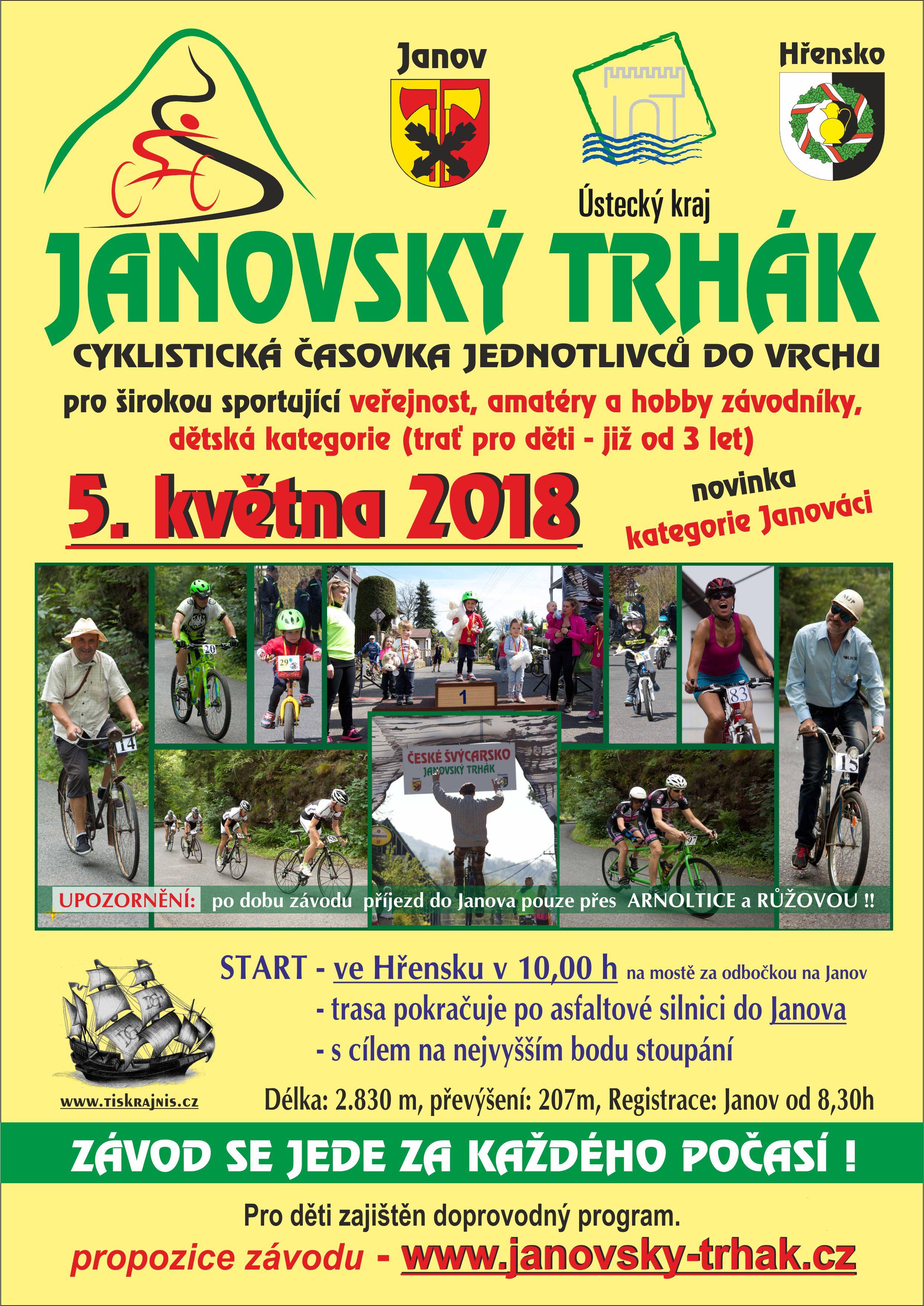 Janov - trhák 2017